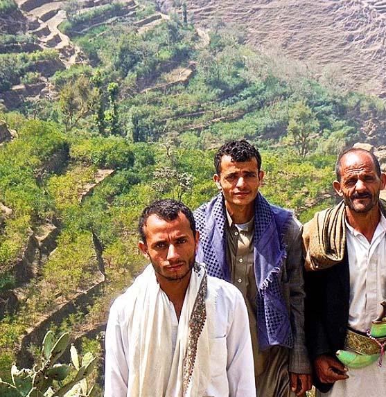 イエメンのコーヒー生産者