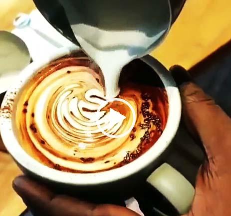 カフェモカの作り方動画