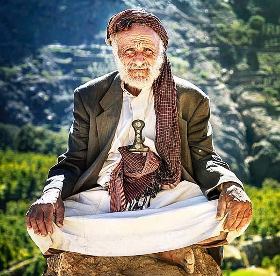 誇り高いイエメン珈琲生産者