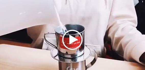 ロブスタを使ったベトナム珈琲の作り方
