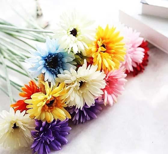 引き出物を飾る造花