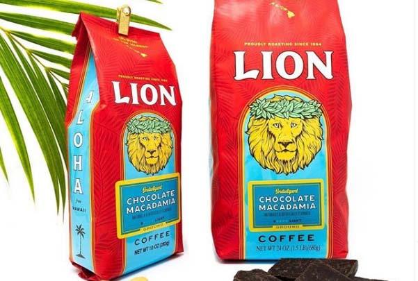 ハワイのお土産ライオンフレーバーコーヒー