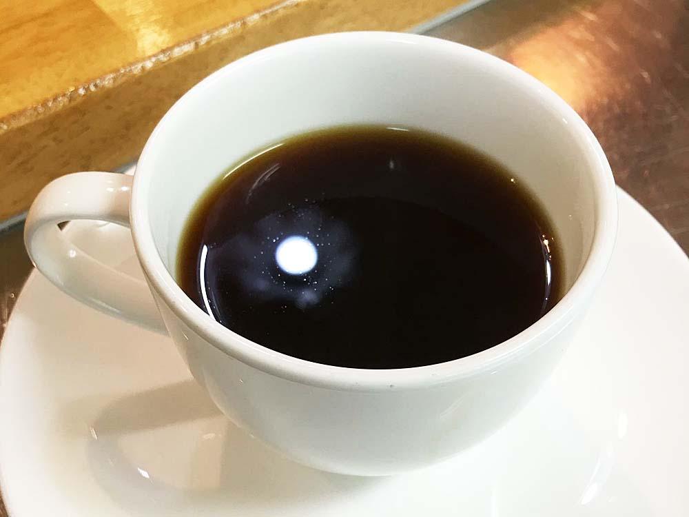 コクのあるコーヒー