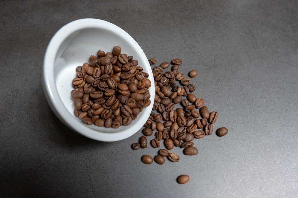 珈琲豆の冷暗所保存