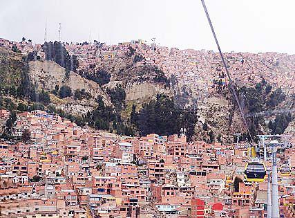 首都ラパス