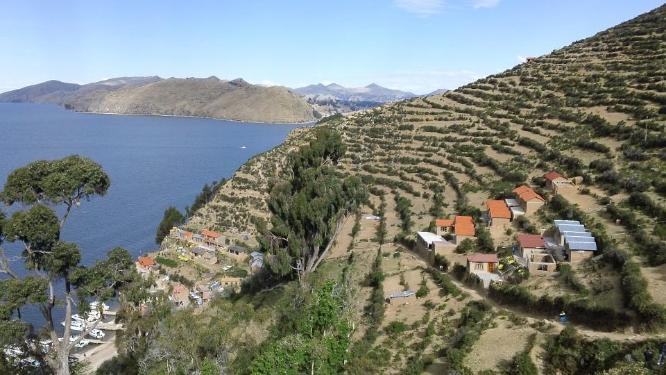 ボリビア珈琲の産地アンデス山脈